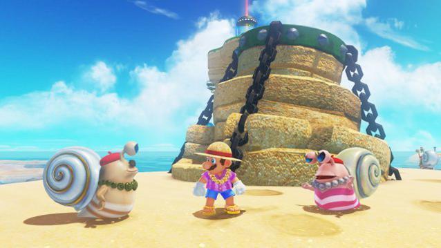 Super Mario Odyssey Freunde