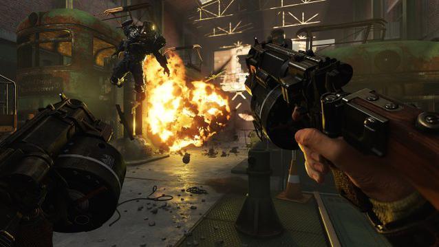 Wolfenstein 2 New Colossus Action