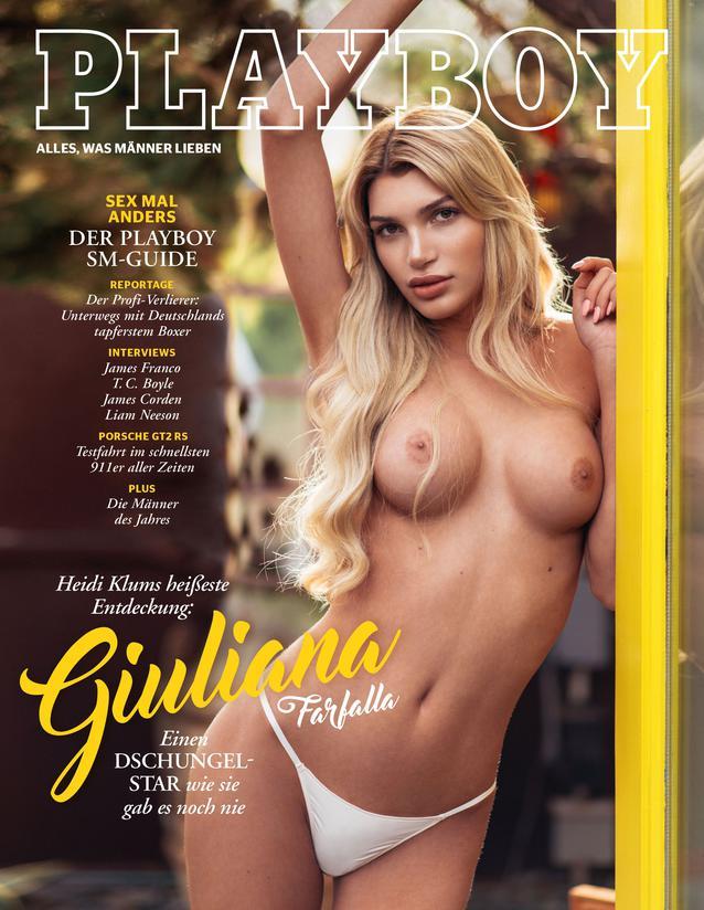 Giuliana Farfalla im Playboy