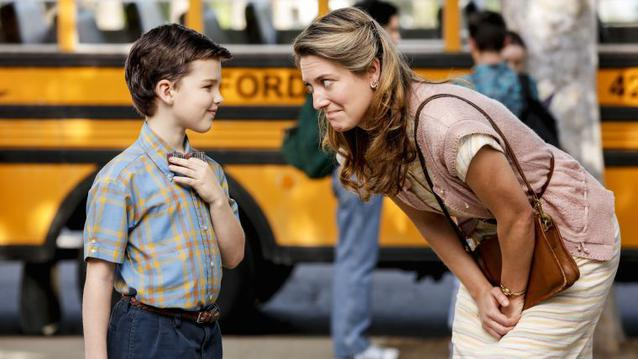 """Young Sheldon"" mit seiner Mutter Mary"