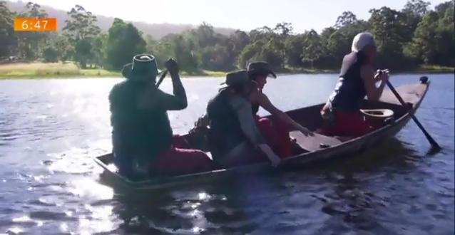Einzug Dschungelcamp 2018
