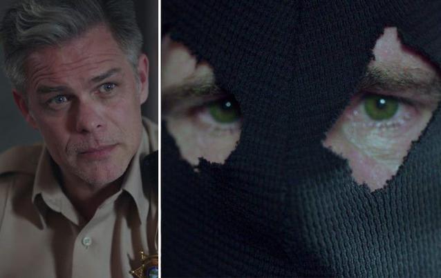 Sheriff Keller Black Hood Riverdale