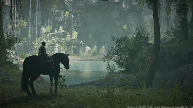Shadow of the Colossus PS4 Vista
