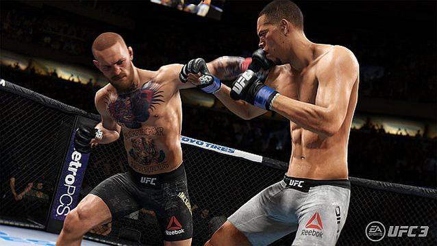 Conor McGregor Octagon UFC 3