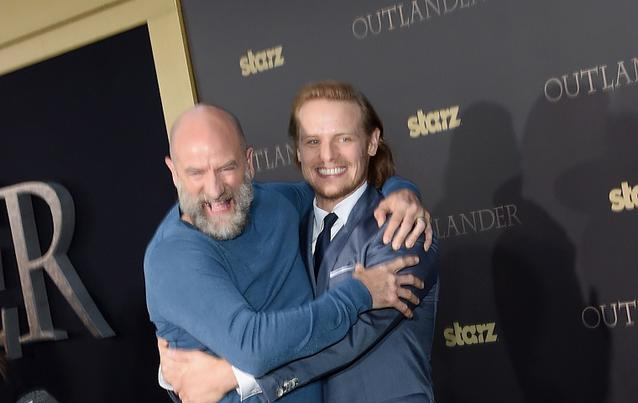 """Outlander""-Stars Sam Heughan und Graham McTavish 2015"