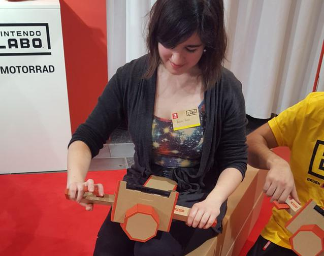 Nintendo Labo Motorrad, Malina Mies