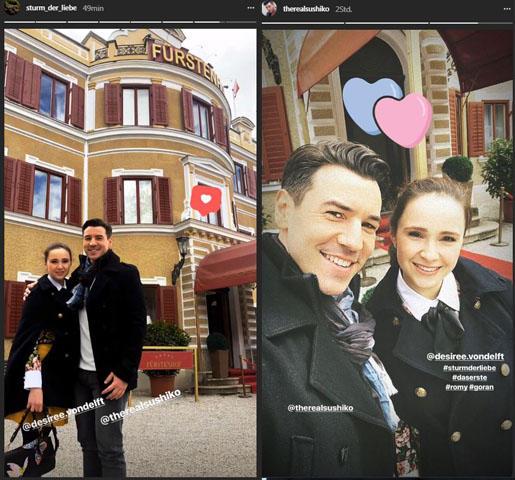 Sturm der Liebe: Goran und Romy