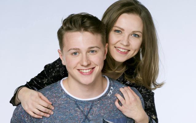 Marija Mauer (Eteri) und Felix Jordan (Moritz)