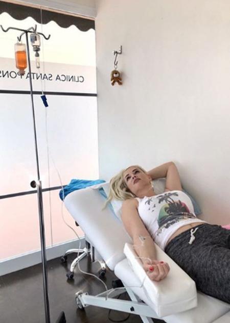 Daniela Katzenberger im Krankenhaus