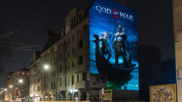 """God of War"" PS4 Sony"
