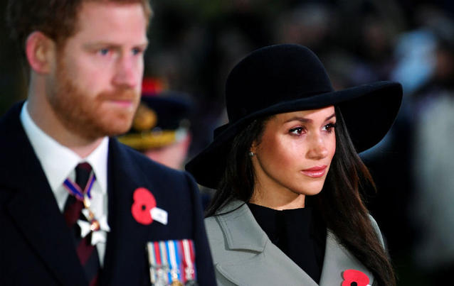 Meghan Markle und Prinz Harry: Flitterwochen absagt!