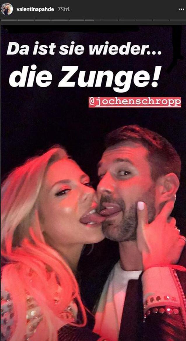 Was geht zwischen Valentina Pahde und Jochen Schropp?