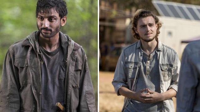 The Walking Dead Siddiq und Alden
