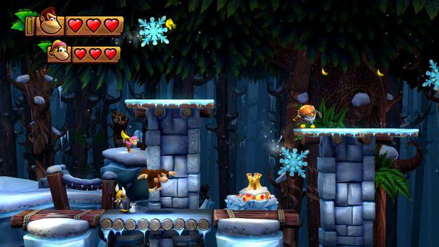 Donkey Kong Tropical Freeze Gameplay