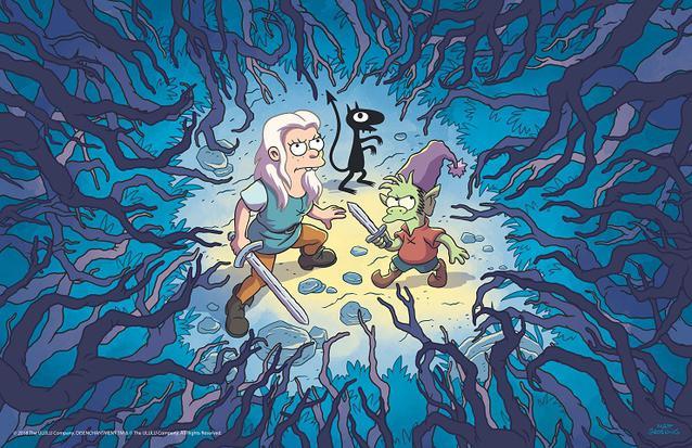 """""""Disenchantment"""" von Matt Groening"""