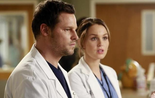 Grey's Anatomy Alex Karev Jo Wilson