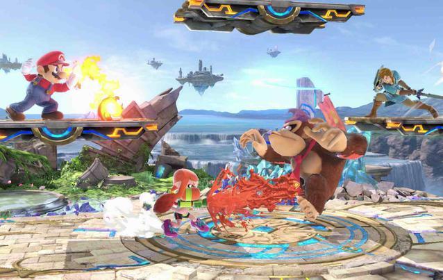 Super Smash Bros. Ultimate auf Nintendo Switch