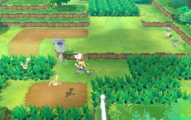 Pokemon Let's Go Gameplay