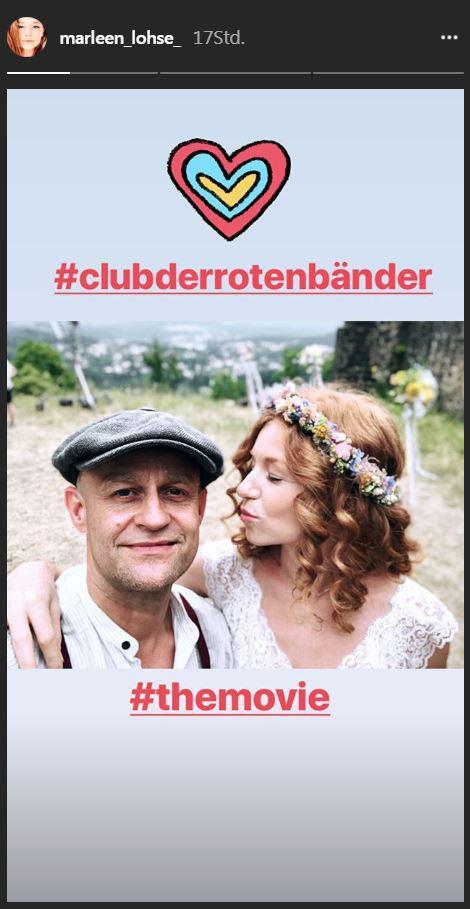 Club der roten Bänder: Marleen Lohse und Jürgen Vogel