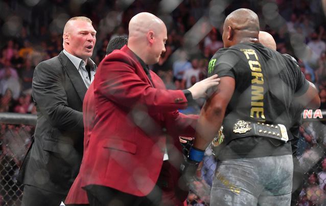 WWE Brock Lesnar UFC