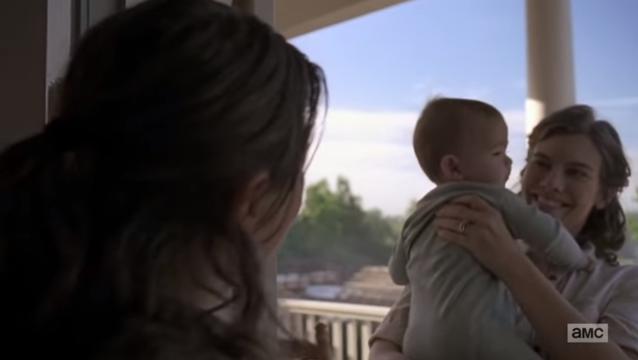 The Walking Dead - Maggie und Baby Hershel