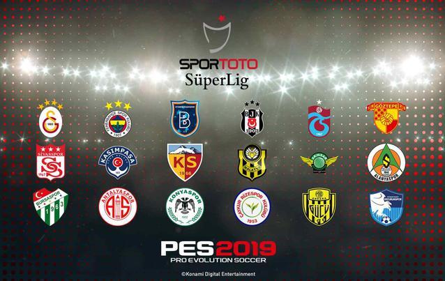 PES 2019 Alle Vereine der Süper Lig