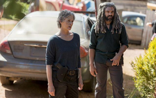 The Walking Dead Carol und Ezekiel