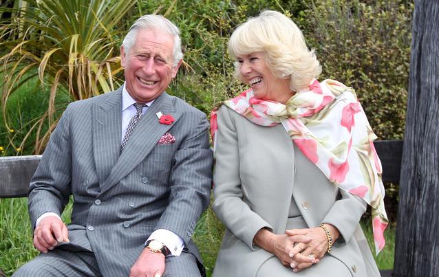 Prinz Charles mit Camilla