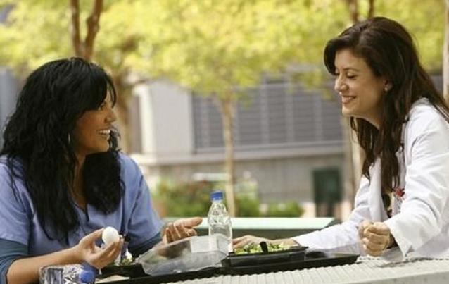 """Grey's Anatomy"": Callie Torres (Sara Ramirez) und Addison Montgomery Shepherd (Kate Walsh)"