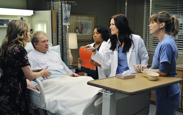 """Grey's Anatomy"": Thatcher Grey (Jeff Perry), Meredith Grey (Ellen Pompeo), Lexi und Co"