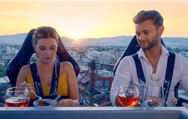 """""""Bachelorette 2018"""":  Nadine Klein und Kandidat Daniel"""