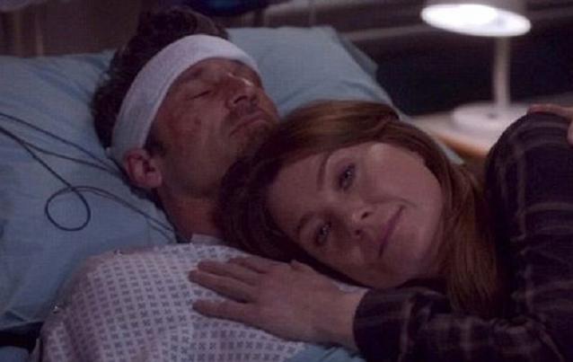 """""""Grey's Anatomy"""": Derek Shepherd (Patrick Dampsey) und Meredith Grey (Ellen Pompeo)"""
