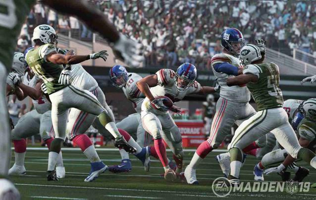 Madden NFL 19 Gameplay Tackles