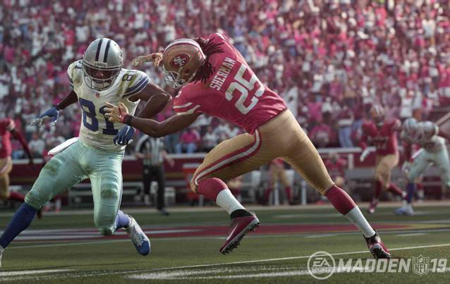 Madden NFL 19 Gameplay Duell