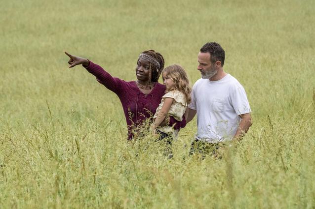 Walking Dead Michonne Rick Judith