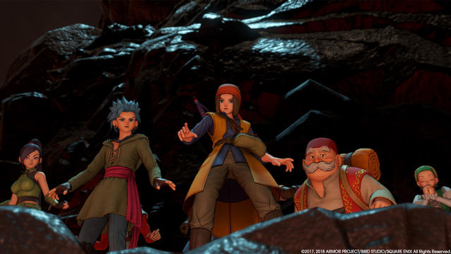 Dragon Quest 11 Gruppe