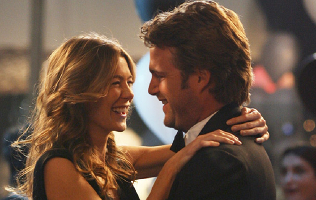 """Grey's Anatomy"": Meredith Grey (Ellen Pompeo) und Finn (Chris O'Donnell)"