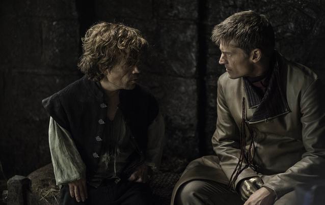 """""""Game of Thrones"""": Tyrion Lannister und jamie lannister/peter dinklage und nikolaj coster-waldau"""