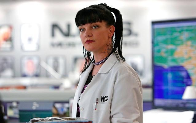 "NCIS ""Navy CIS"" Pauley Perrette alias Abby Sciuto"
