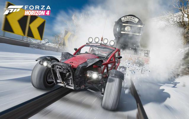Forza Horizon 4 Playground Games