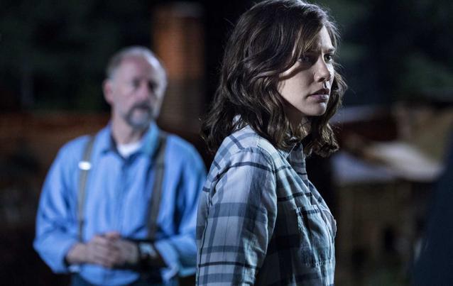 The Walking Dead Season 9 Gregory Maggie