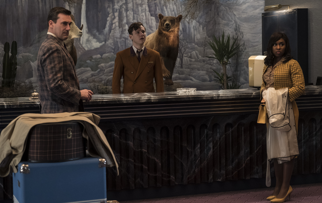 """Bad Times at the El Royale"" - Jon Hamm, Lewis Pullman, Cynthia Erivo"