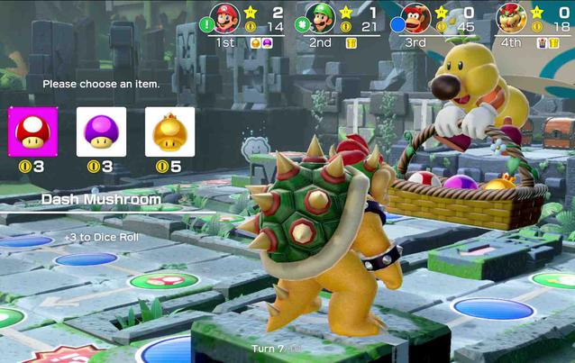 Super Mario Party auf Nintendo Switch