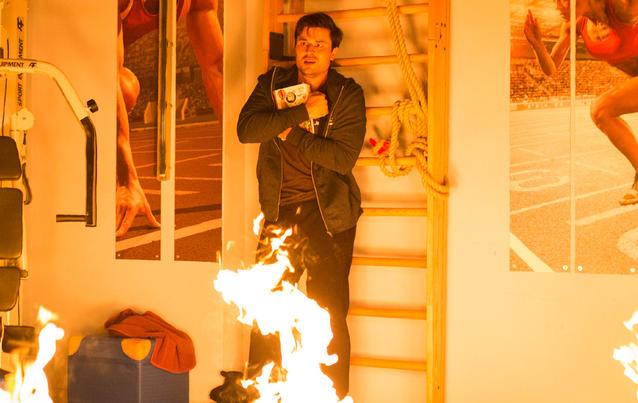 Unter Uns: Paco in Flammen