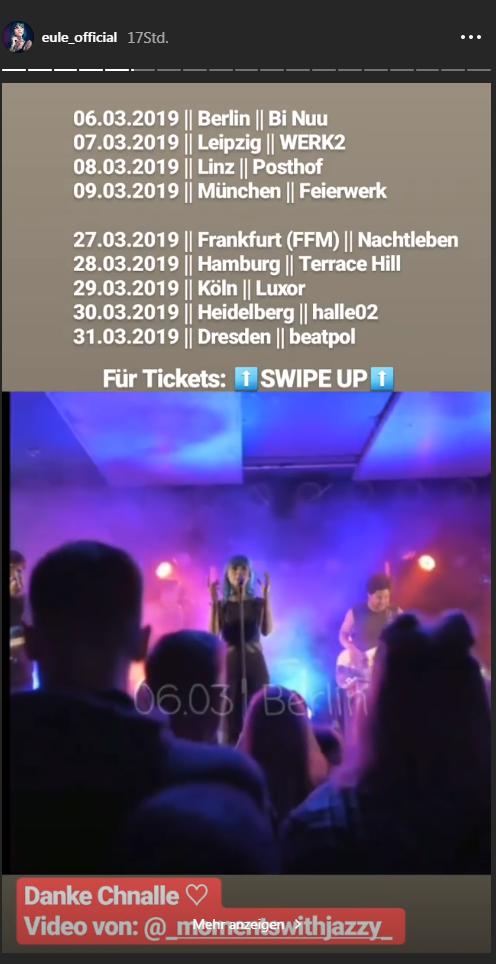 BTN-Eule geht 2019 auf Tour