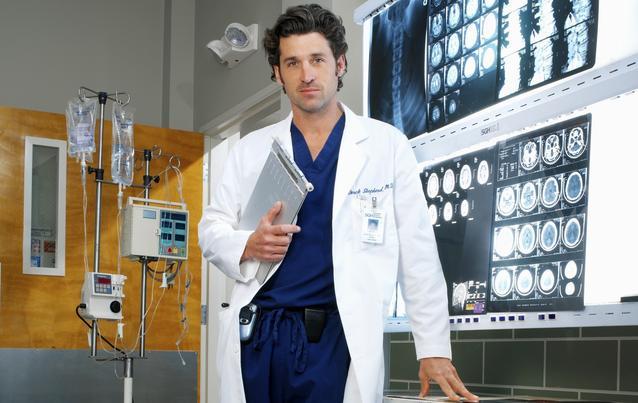 """Grey's Anatomy"": Patrick Dempsey alias Derek Shepherd/McDreamy"