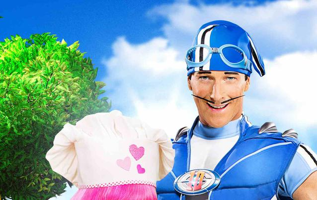 Lazy Town Sportacus