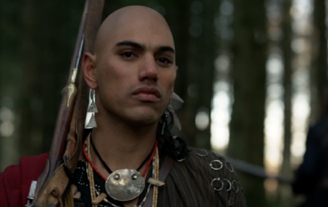 """Kontroverse um vorbestraften Darsteller Will Strongheart in """"Outlander"""""""