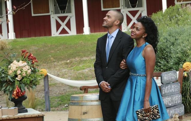 Grey's Anatomy: Jackson und Stephanie waren in den Staffeln 9 und 10 ein Paar.