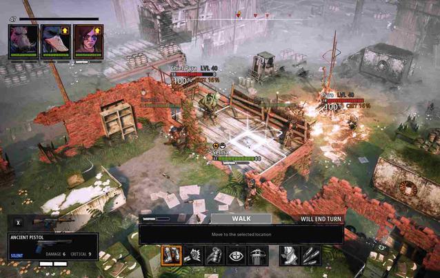 Mutant Year Zero Road to Eden Strategie Map